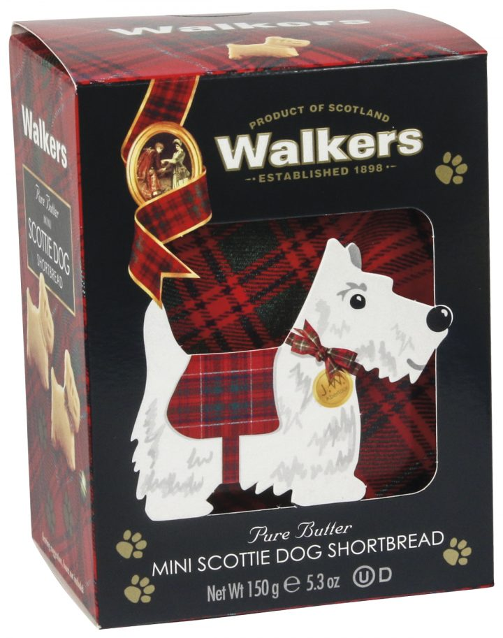 98001574 3D ds Mini Scottie Dog Shortbread