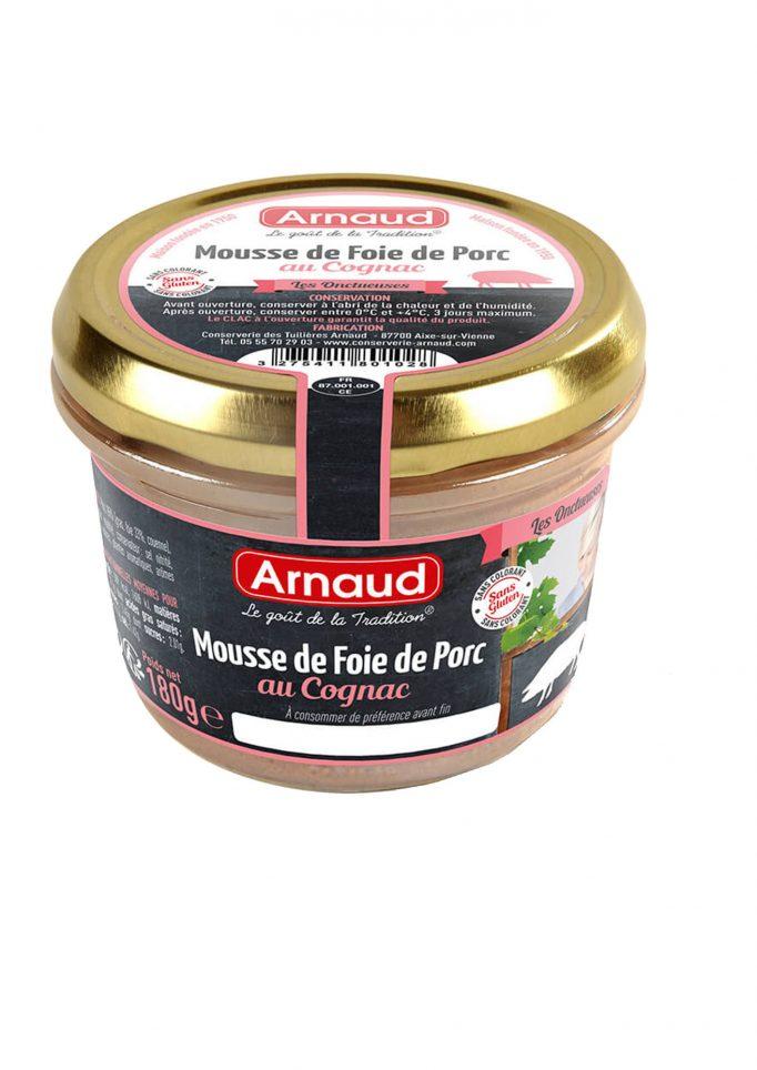 12080102 Mousse de Foie de Porc au Cognac glas