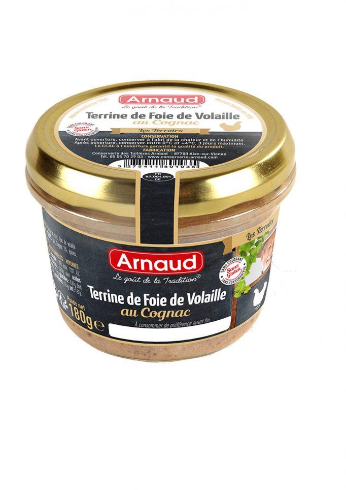 12080103 Terrine de Foie de Volaille au Cognac glas