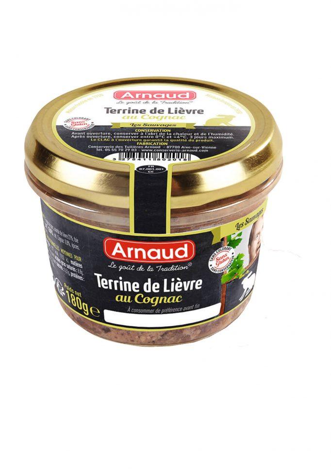 12080201 Terrine de Lievre au Cognac glas