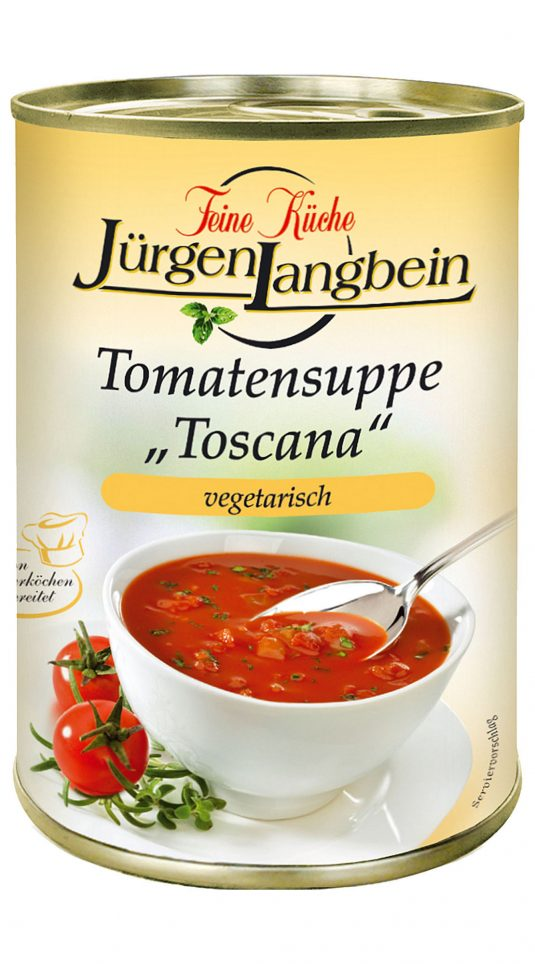 16010393 Tomatensoep Toscana blik