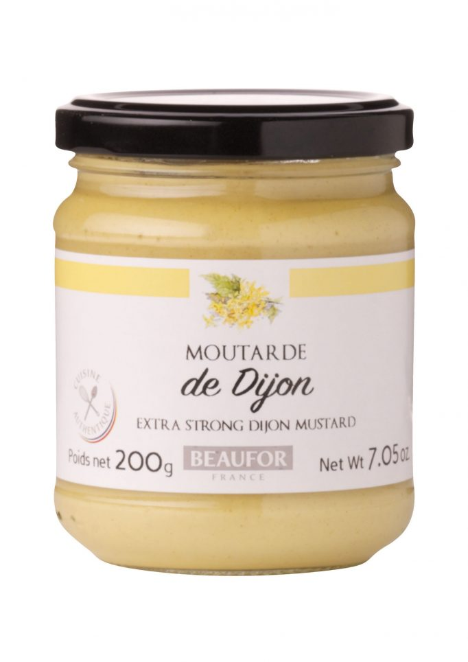 29032221 Dijon Mosterd extra strong glas