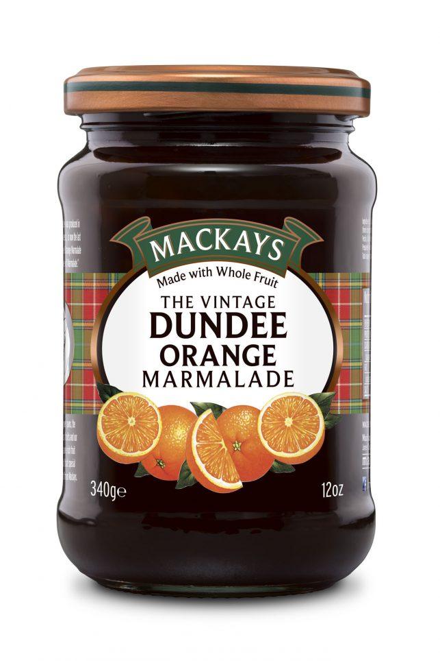 62000091 Vintage Dundee Orange Marmalade glas 340g