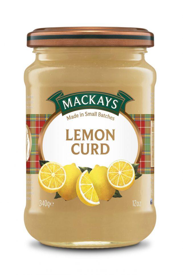 62000105 Lemon Curd glas 340g