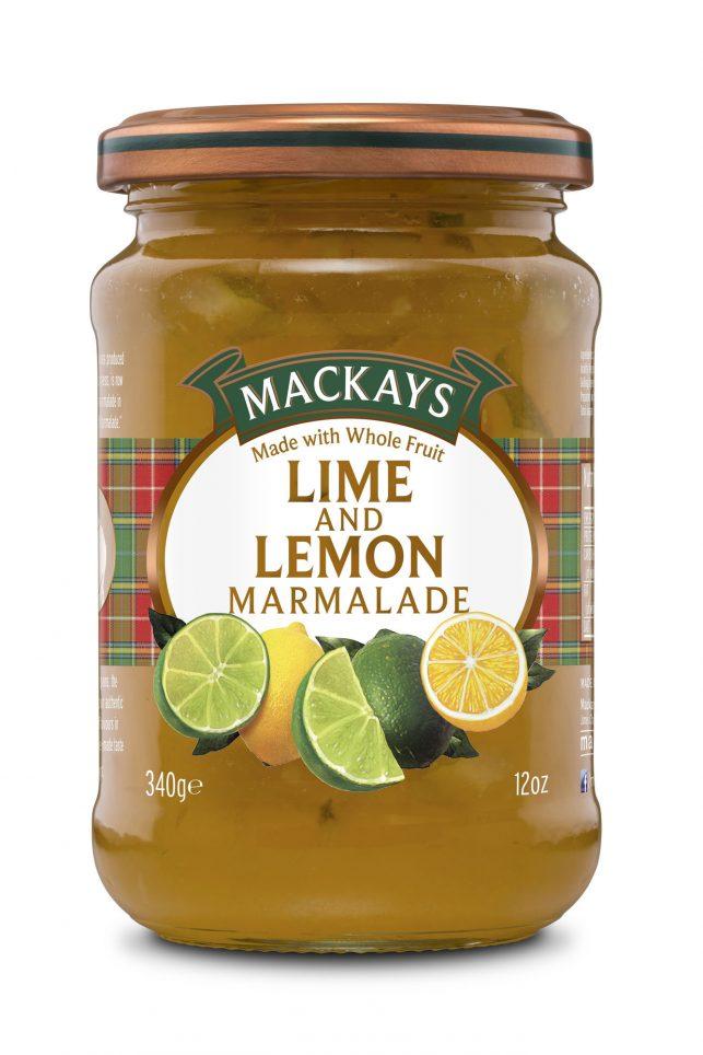 62001089 Lime & Lemon Marmalade glas 340g