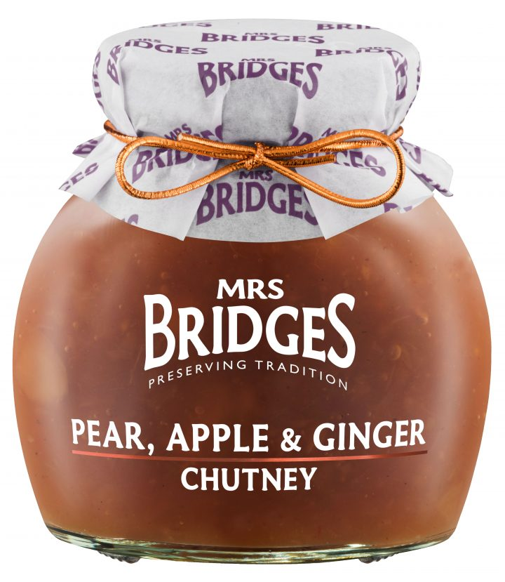 38001367 Pear, Appel and Ginger Chutney, 100g