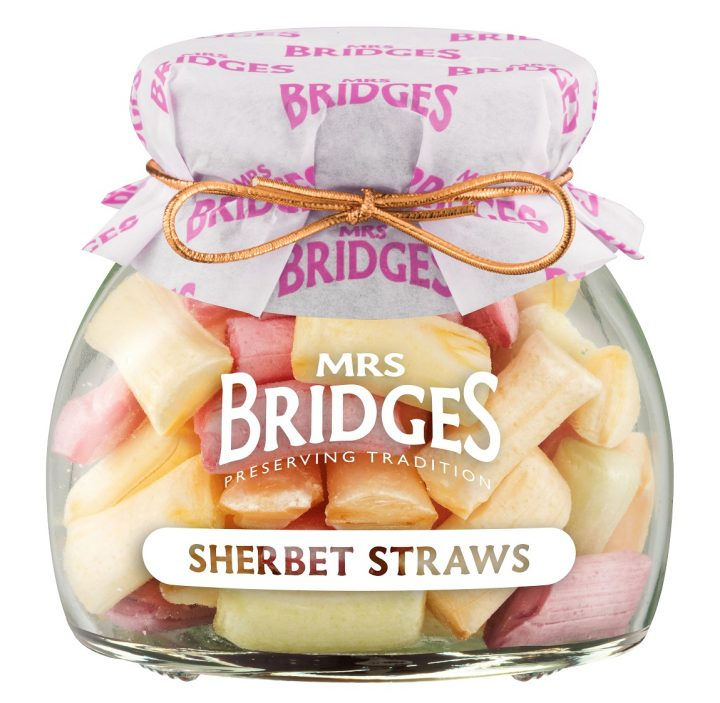 38002582 MB Sweets Sherbet Straws glas 155g