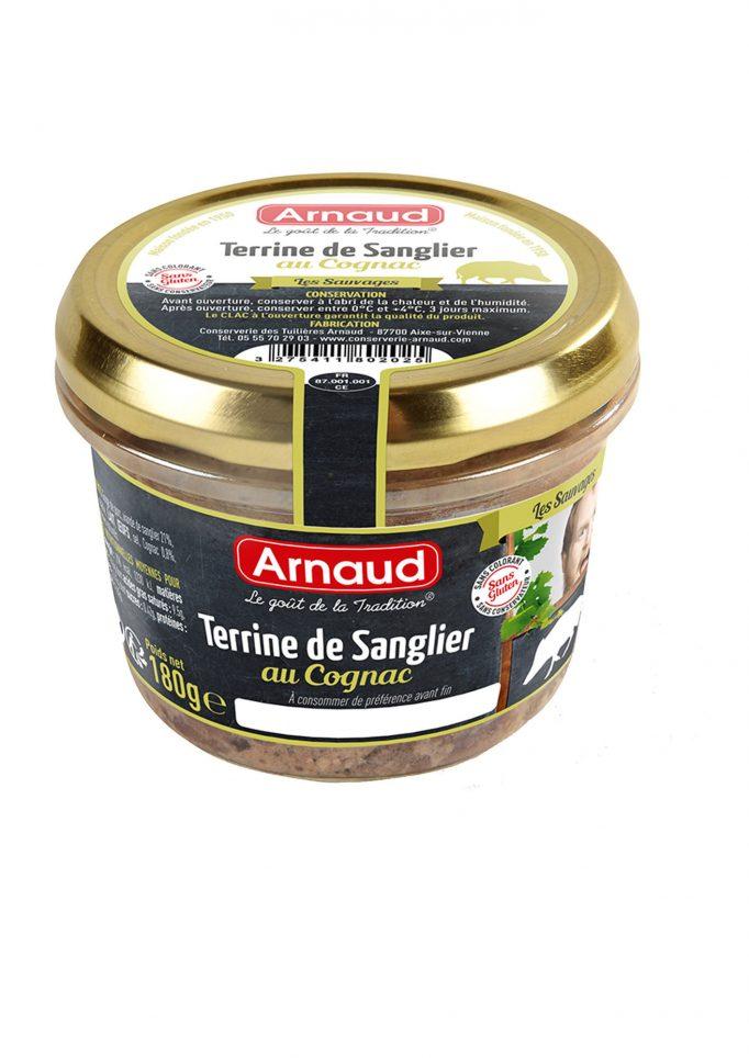 12080202 Terrine de Sanglier au Cognac glas