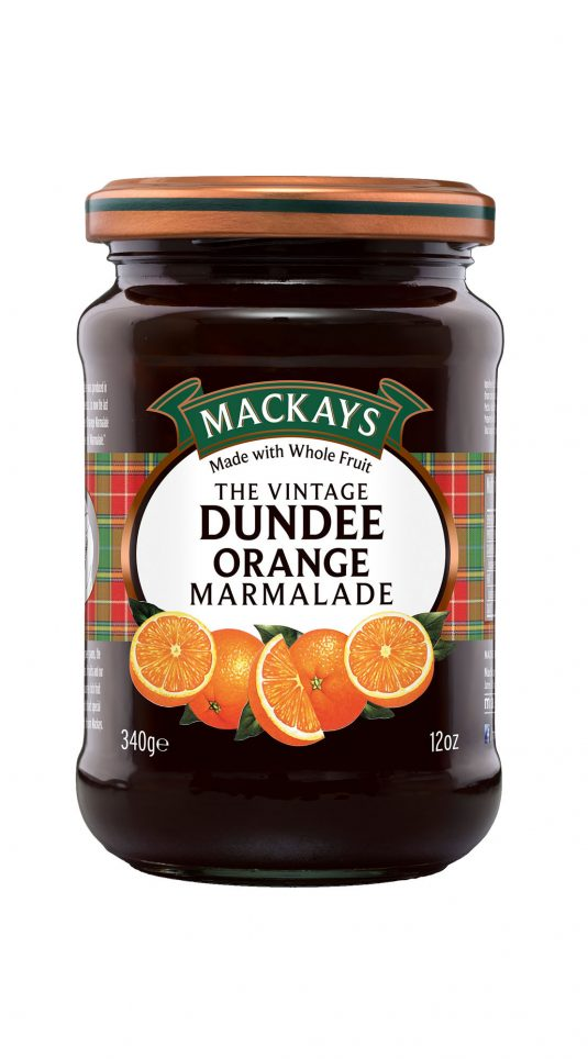 62000091 Vintage Dundee Orange Marmalade glas 340g_1