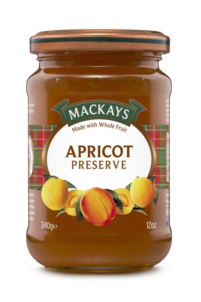 62000108 Apricot Preserve glas 340g